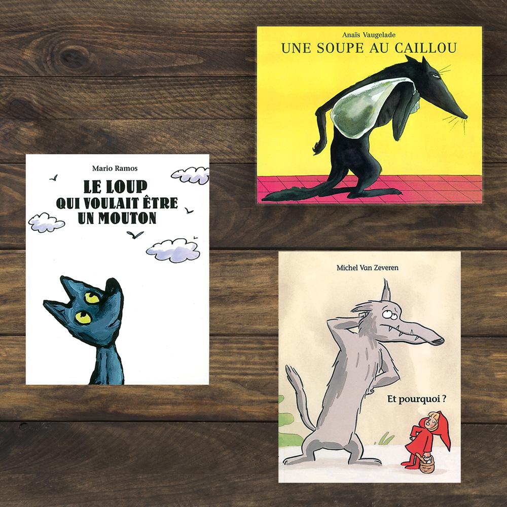 livres du loup pour enfants