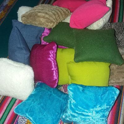 Les coussins sensoriels montessori