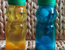 DIY bouteilles sensorielles
