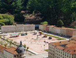 Place Bellecour de Lyon à France Miniature
