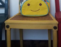 Chaises dépareillées salle à manger