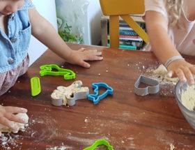 La pâte à sel avec les enfants