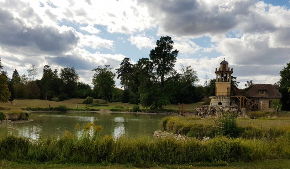 Un après-midi au Domaine de Marie-Antoinette - Esquisses d'Adélaïde