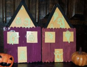Tuto créatif pour faire une maison fantôme avec son enfant