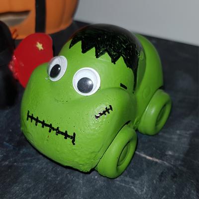 Voiture monstre Frankenstein