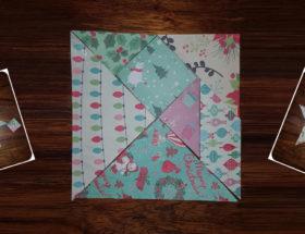 créer votre tangram de noel