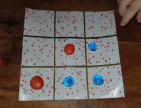 créer un jeu morpion avec des billes plates