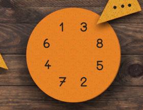 jeu de la galette pour apprendre à compter