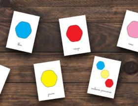 cartes imagier des couleurs pour enfant à télécharger
