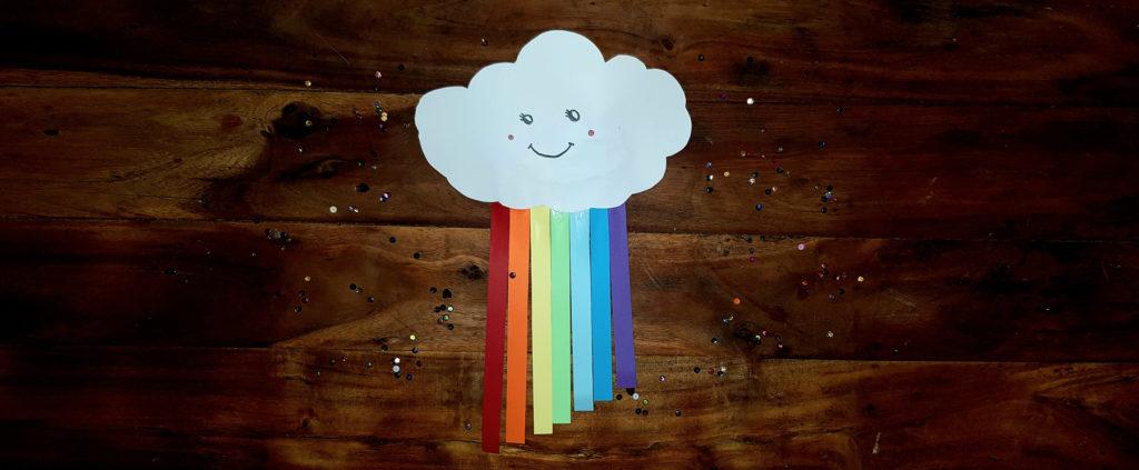 bricolage nuage kawaii pour décorer