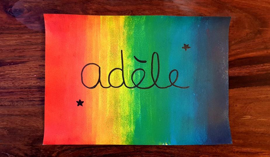 peinture multicolore : découvrir les dégradés avec la peinture