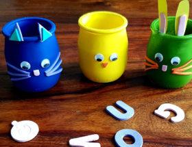DIY pots d'oeufs de Pâques