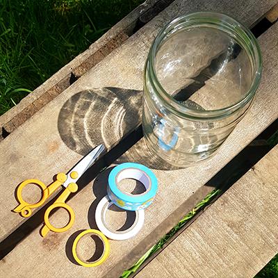 kit pour customisation au masking tape