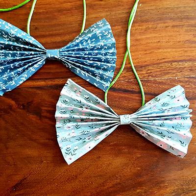 DIY noeud papillon à offrir