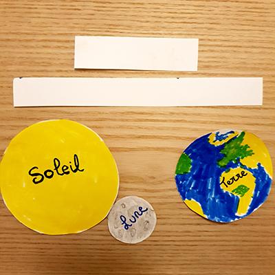kit de base pour DIY papier eclipse solaire ou lunaire
