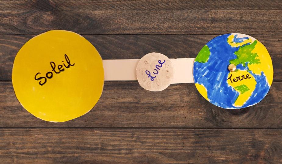 DIY express eclipse solaire pour enfant
