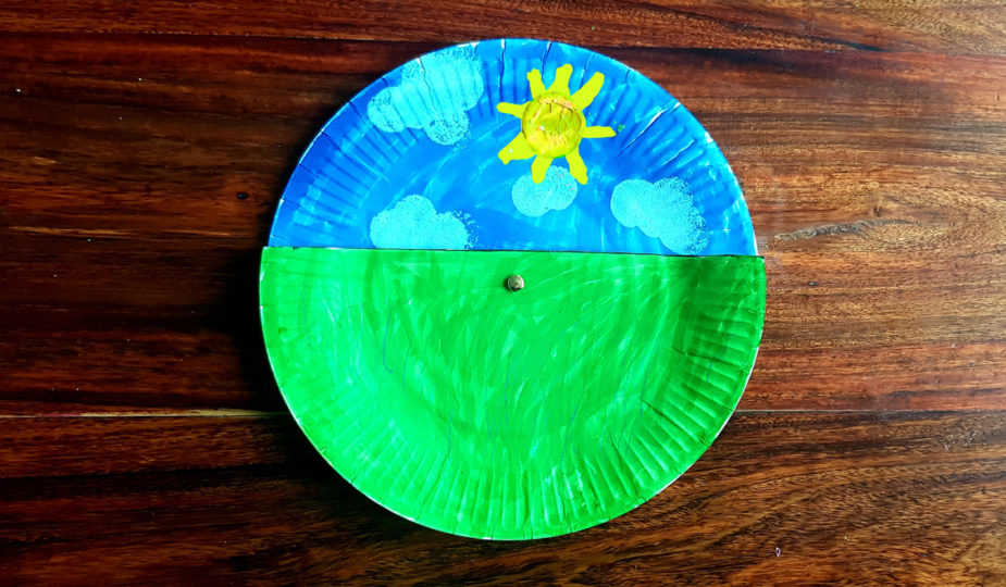 tuto diy kids création d'une roue jour nuit