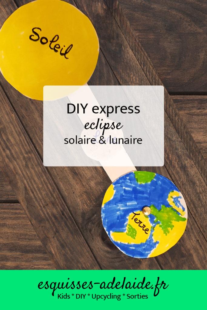 Diy express solaire et lunaire