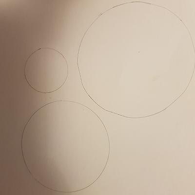3 ronds dessins