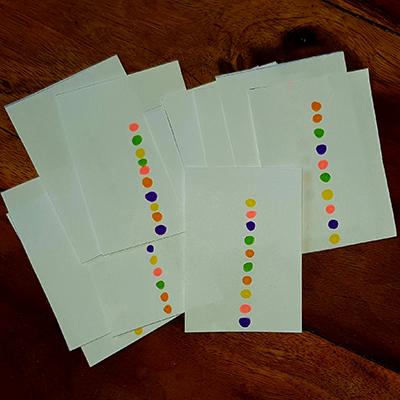 cartes de couleur