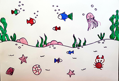dessin les sous-marins