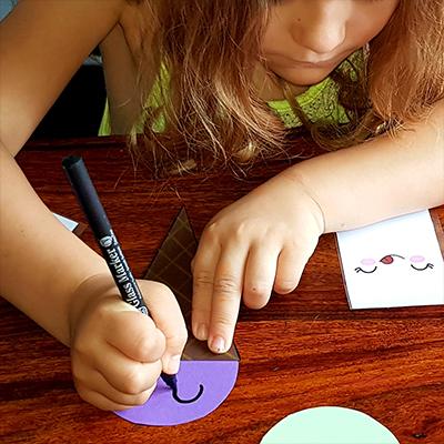dessin d'enfant, glace kawaii