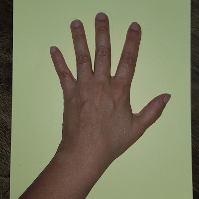 dessiner sa main