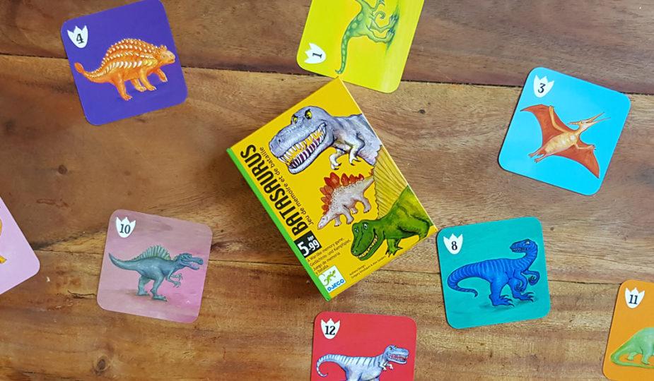 batasaurus, jeu de mémoire et de bataille, djeco