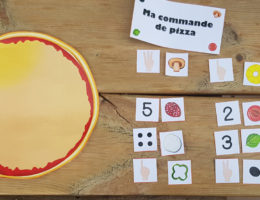 jeu créer ta pizza, mettre le bon nombre d'ingrédients
