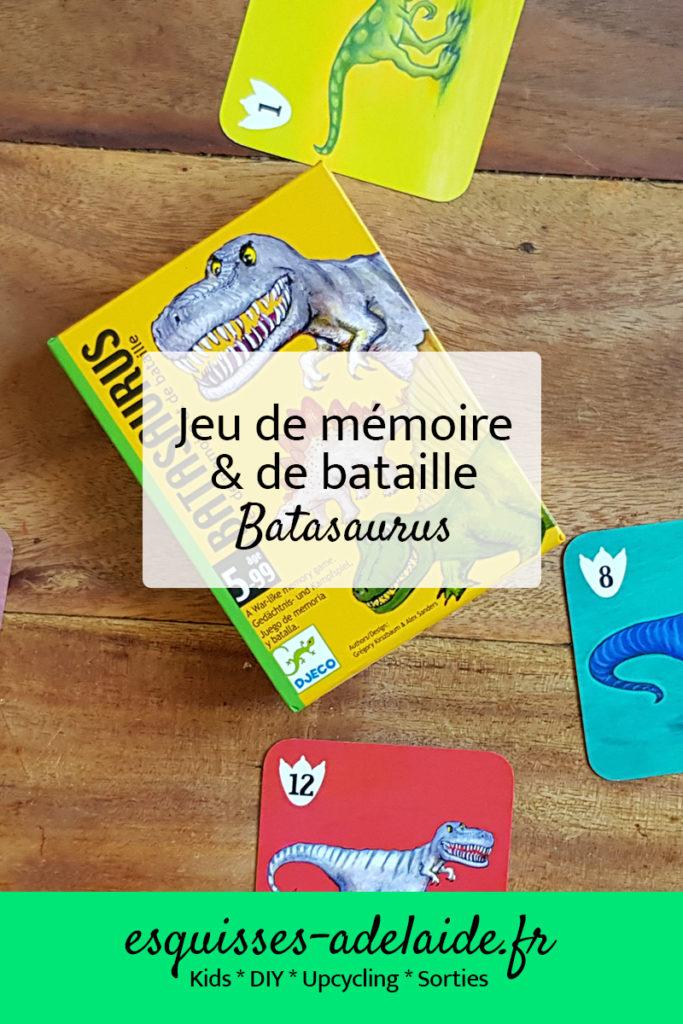 jeu de mémoire et de bataille, batasaurus